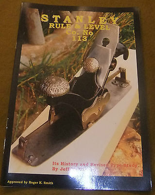 Book: Stanley Rule & Level Co. No.113, History and Study of the Compass Plane