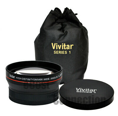 Vivitar 67mm 0.43x Wide Angle HD Lens for DSLR Cameras/Camcorders