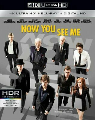 Now You See Me 4k Code Only -No Disc