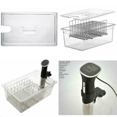 C20L-Ap Lid For Lipavi C20 Sous Vide Container Tailored For The Anova Precision