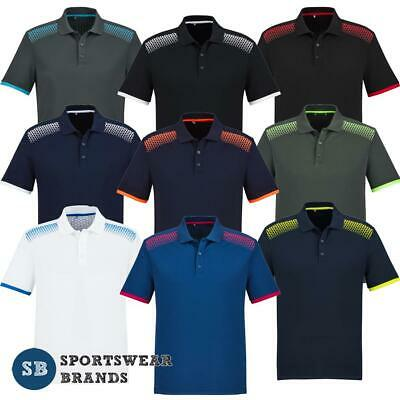 Mens Galaxy Polo Shirt Sports Casual Cool Dry Breathable Work Top Golf P900MS