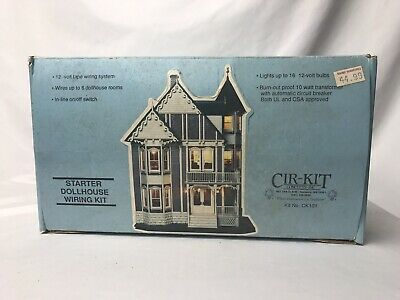 Miraculous Cir Kit Concepts Electrical Lighting Starter Dollhouse Wiring Kit Wiring Digital Resources Millslowmaporg