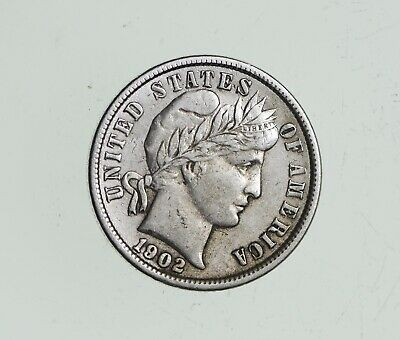 Higher Grade - 1911 Barber Liberty US Silver Dime - Great Detail in LIBERTY *581