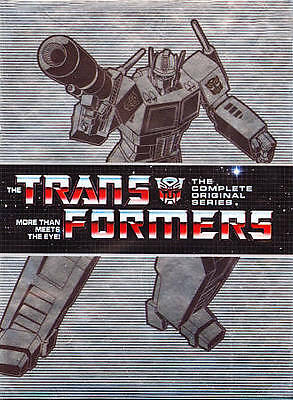 Transformers: The Complete Series Collection (DVD, 2011, 15-Disc Set)