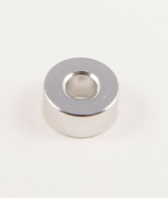 "New Aluminum Spacer bushing bung 5/8"" OD x 1/4"" ID x 19/64"" Long M6 Bore (6mm)"