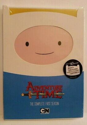 Adventure Time: The Complete First Season DVD, 2012, 2-Disc Set New Sealed
