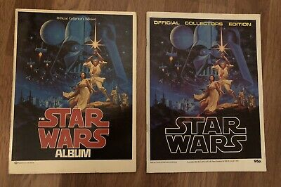 Two Star Wars Official Collectors Edition Marvel UK Version and Ballantine US