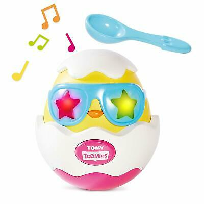 Tomy Beat It Egg Musical/Sounds Toys Baby/Kids/Toddler Game/Play 18m+ w/ Spoon