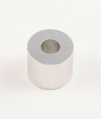 "New Aluminum Spacer bushing bung 5/8"" OD x 1/4"" ID x 17/32"" Long M6 Bore (6mm)"