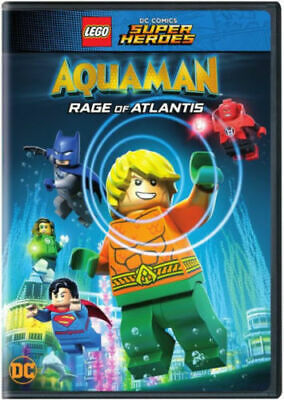 LEGO DC Comics Super Heroes: Aquaman: Rage Of Atlantis DVD Sealed Brand New!!!