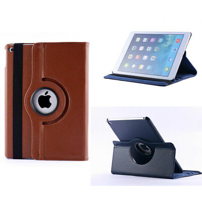 """Leather Flip 360 Rotating Stand Case Cover for Apple iPad mini Air Pro 9.7"""" 10.5"""