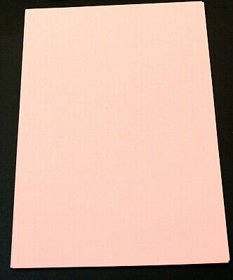 BRAND NEW - 23 Sheets Of Pink A4 Craft Paper 80GSM