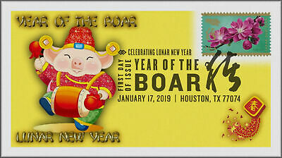 Chinese Lunar Year of the Pig - Boar 2019 First Day Cover #252