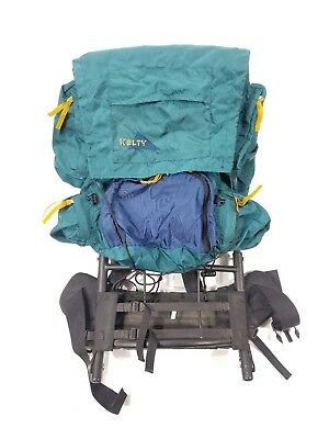 Vintage Kelty Pack External Aluminum Frame Hiking Camping Backpack USA Size  S-M e6629bdc9f