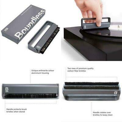 Boundless Audio Record Cleaner Brush — Vinyl Cleaning Carbon Fiber Anti-Static