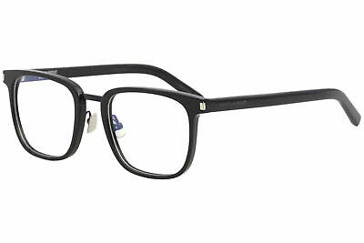 Saint Laurent Eyeglasses SL222 SL/222 005 Black Full Rim Optical Frame 53mm