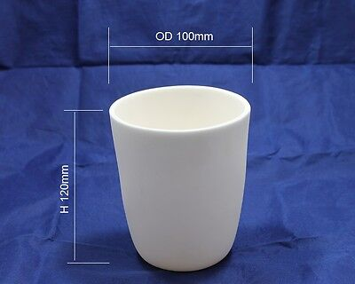 Alumina Ceramic Crucible, 500ml, Free Shipping