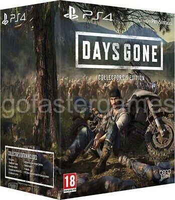 Days Gone Collector's Edition Pal Uk Ps4 New Sealed