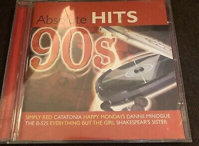 Various Artists : Absolute 90's Hits CD ALBUM