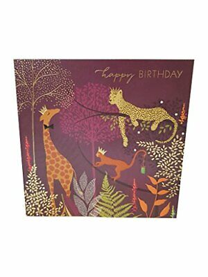 The Art File - Happy Birthday - Jungle #SAM51 by Sara Miller London NEW