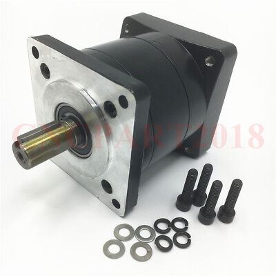 16:1 NEMA34 Planetary Gearbox Gear Reducer Head 14mm Input for 86 Flange Motor