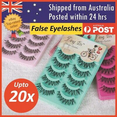 False Eye Lashes Natural Thick Fake Eyelashes False Handmade Extension Makeup