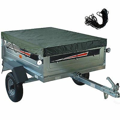 Trailer Cover Tailored Camping Towing 2.6 x 1.26 Meter Fitted Universal X Large