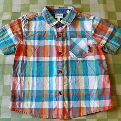 Ted Baker 9-12 Baby Boys Checked Shirt Summer Holiday