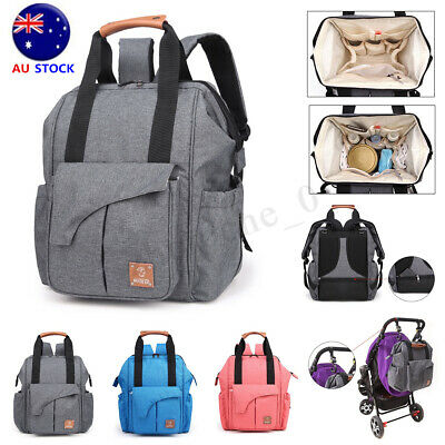 Women Large Mummy Backpack Rucksack Maternity Baby Nappy Diaper Bag Travel Tote