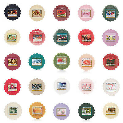 Yankee Candle Wax Melts - You Choose Free P&P UK Delivery