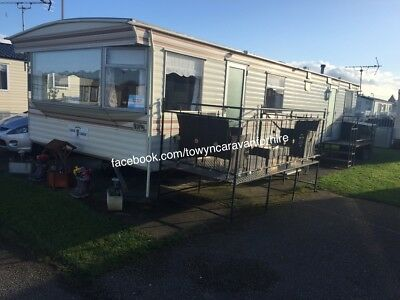 3 Bedroom Caravan For Hire Rent Towyn North Wales 8 Berth 🏴󠁧󠁢󠁷󠁬󠁳󠁿