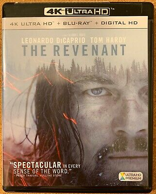 The Revenant 4K Ultra Hd Blu Ray 2 Disc Set Free World Wide Shipping Buy It Now