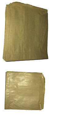 Brown Paper Bags Food Use Strung Sandwiches Groceries Full Range FLat PAPER BAG