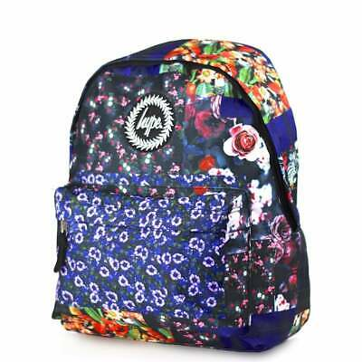 2dae393e6ab3 HYPE Floral Patches Backpack - Multi Schoolbag HY006-0021 Hype Bags  FREE  Haribo