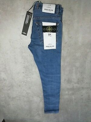 Stone Island Junior J3212 Skinny Fit Jean AUTHENTIC Age 8 RRP 135 NOW £78