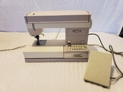 Vintage PFAFF Tipmatic/Tiptronic Sewing Machine #1151 Model 0100A - W. Germany