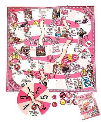 Hen Night Mix Up Game Twist and Tangle Hen Party Game
