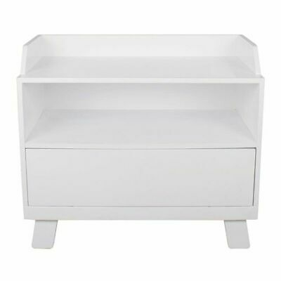 Bebecare Casa Toy Box with Seat White Modern Design