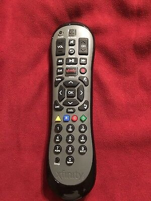 Original Comcastxfinity Backlit Remote Control Xr5 Black For Hdtv