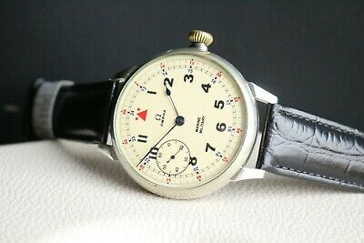OMEGA Vintage 1930`s MILITARY MARINE AIR FORCES Pilot Men`s Swiss Wrist Watch