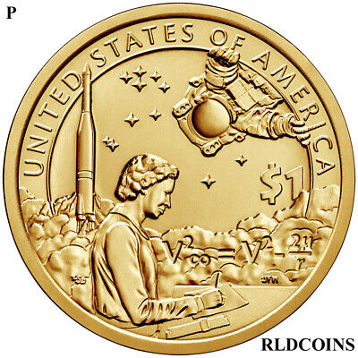 2019 P  Native American Uncirculated Dollar - Indian In Space
