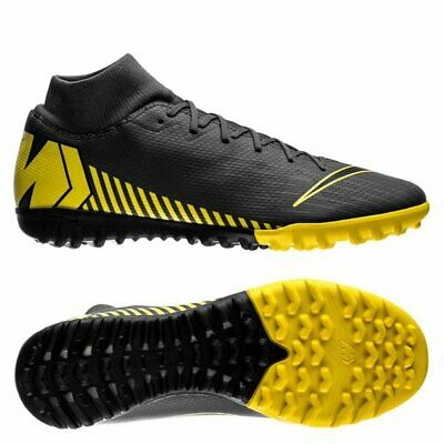 807d4f41553 Nike Mercurial SuperflyX Academy VI DF TF Turf 2019 Soccer Shoes Gray Yellow