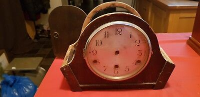 Chiming Mantle Clock British Anvil 46992 Movement...PARTS.