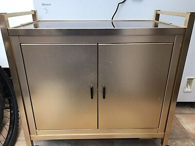 Kaymet Hot Cabinet/ Trolley - Vintage
