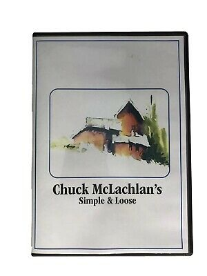 """✅ Chuck McLachlan - Video Art Lessons """"Simple & Loose"""" DVD"""