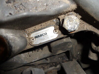IVECO Stralis EURO5 automatic gearbox control ZF-ASTRONIC WABCO 4213550120