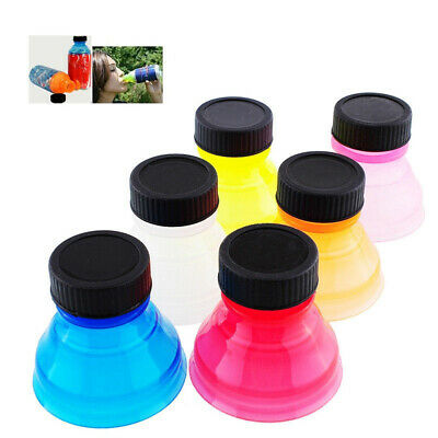 Lid Protector Reusable Snap On Cup Soda Saver Caps Cover Can Cap Bottle Top