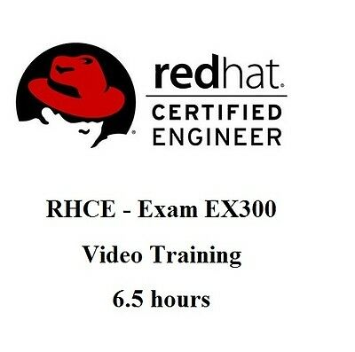 Red Hat Certified Engineer (RHCE) - Exam EX300 Video Training 6.5 hours