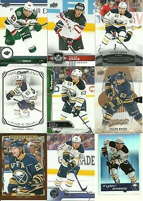 Huge Maple-Leafs Wild Sabres Canada Tyler Ennis 36 Different Cards Lot