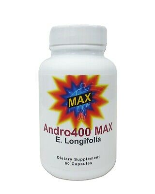 Andro400 Max - 4 Bottles **4 Month Supply** Manufacture Direct - Free Shipping